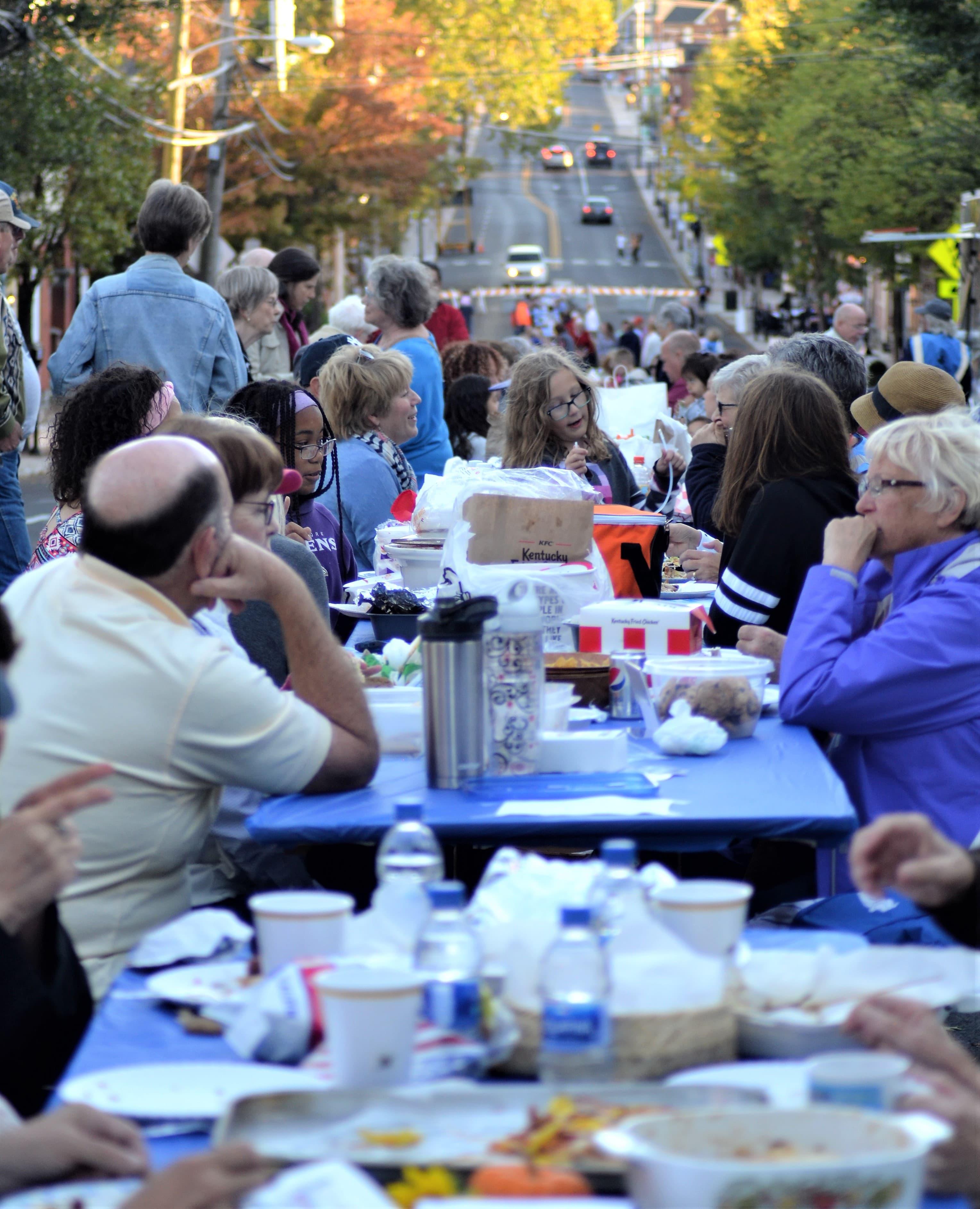 Gettysburg's 2019 Long, Long, Long, Long Dinner Party